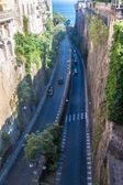 Road in Sorrento — Stockfoto