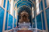 Interior of a cathedral in Sorrento — Foto Stock