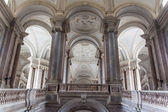 main stairway in Palazzo Reale in Caserta — Stock Photo