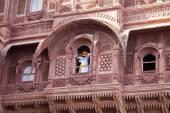 Mehrangarh Fort in Jodhpur — Stock Photo