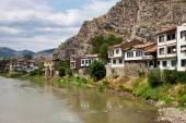 Ottoman houses in Amasya — Stock Photo