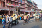 Road Traffic in Jaipur — Stock Photo