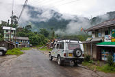 Villaggio Yuksom nel Sikkim, India — Foto Stock