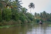 Backwaters, India — Stock Photo
