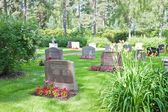 Friedhof in nykoping — Stockfoto