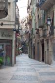 Street in Reus — Stock Photo