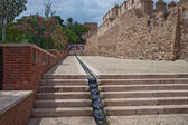 老堡垒阿尔卡萨瓦在阿尔梅里亚 — 图库照片