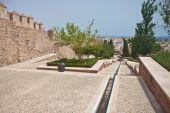 Old fortress Alcazaba in Almeria — Foto Stock