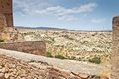 Old fortress Alcazaba in Almeria — Foto Stock
