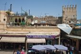 View of a street in old medina — Fotografia Stock