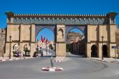 One of gates of the city Meknes — Stock Photo