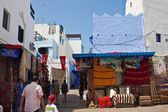 People in a medina of Asilah — Stock Photo