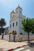 Asilah, Fas Hıristiyan Kilisesi — Stok fotoğraf