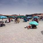 Jema el Fna Square in Marrakesh — Stock Photo #59710287