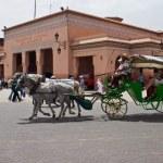 Jema el Fna Square in Marrakesh — Stock Photo #59710307