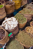 Stall with spices — Stock Photo