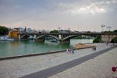 Bridge in Seville — Stock Photo