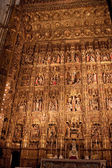 Interior of Cathedral in Seville — Stock Photo