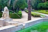Park in center of Sevilla — Stock Photo