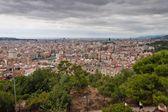 Vue aérienne de barcelone — Photo