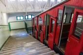 Funicular in San Sebastian — Stock Photo