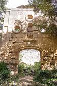 Ruins of La Virgen de la Rosa Hermitage — Stock Photo