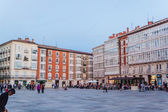 View of city center in Burgos — Stock Photo