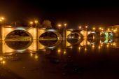 Kamenný most v Logrono — Stock fotografie