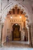 Aljaferia palace in Saragossa — Stock Photo