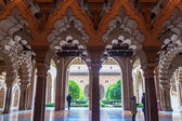 Aljaferia palace in Saragossa — Stock Photo
