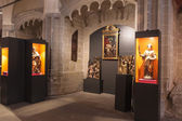 Exposition in the cathedral — Stock fotografie