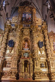 Altar in monastery Santa Maria — Stock Photo