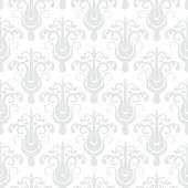 White geometric texture in art deco style — Stock Vector