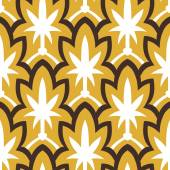 Vintage hand drawn art deco pattern — Stock Vector