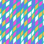 Vector seamless bold harlequin pattern — Stock Vector