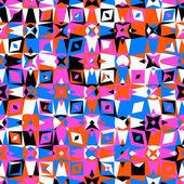 Colorido patrón geométrico — Vector de stock