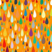 Pattern with water or paint drops — Vector de stock