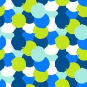 Bold print with circles — Stock Vector