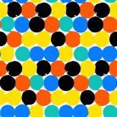 Big bright dots — Stock Vector