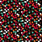 Confetti pattern — Stock Vector