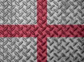 England flag on grunge wall — Stock Photo