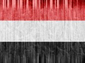 Yemen flag paper texture — Stock Photo