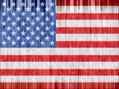 US national flag paper texture — Stock Photo