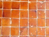 Grunge orange brick wall background texture — Stock Photo