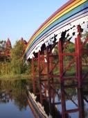 Bridge across river — Stock Photo