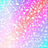 Fond coloré de Noël avec des lumières de bokeh — Photo
