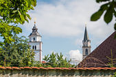 Panorama of Kranj, Slovenia, Europe. — Stock Photo