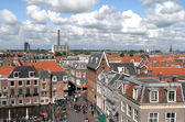 View over the city of Leiden in The Netherlands. — Stock fotografie