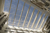 Roof of the City Hall in The Hague, designed by Richard Meier. — Stock Photo