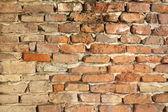 Old weathered brick wall — Stock Photo